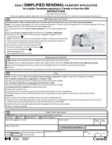 adult general passport application - Receive a Free Wedding Website