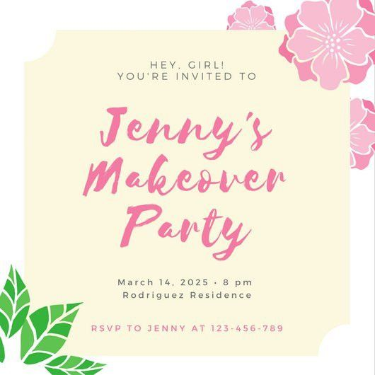 Invitation Templates - Canva
