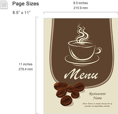 Menu Templates Features - SmileTemplates.com