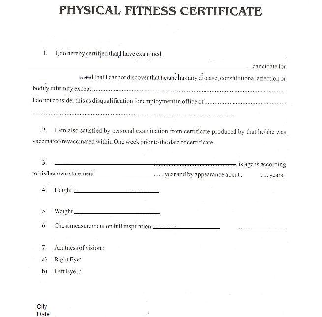 Medical Certificate Sample Medical Certificate Template 20 Free – Medical Certificate Format