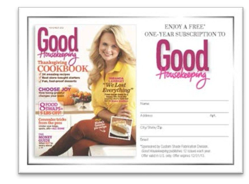 Good Housekeeping » Good Housekeeping Magazine Free Subscription ...