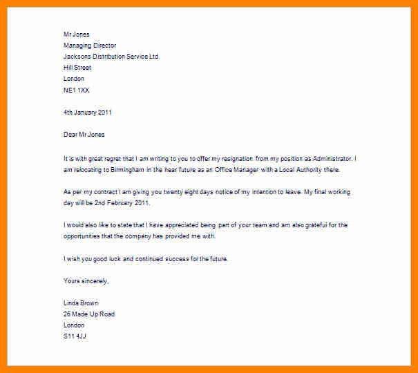 9+ resign letter word format   forklift resume