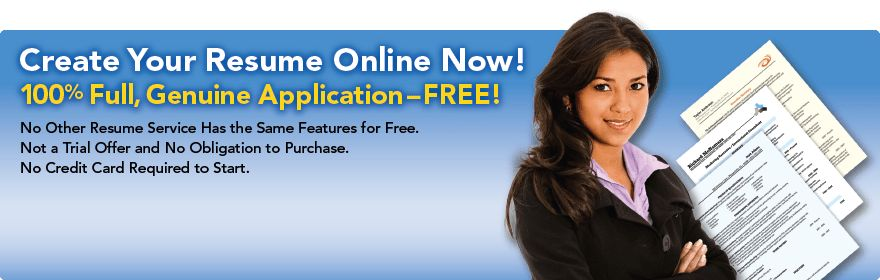 Free Resume Builder — Write a Resume Online