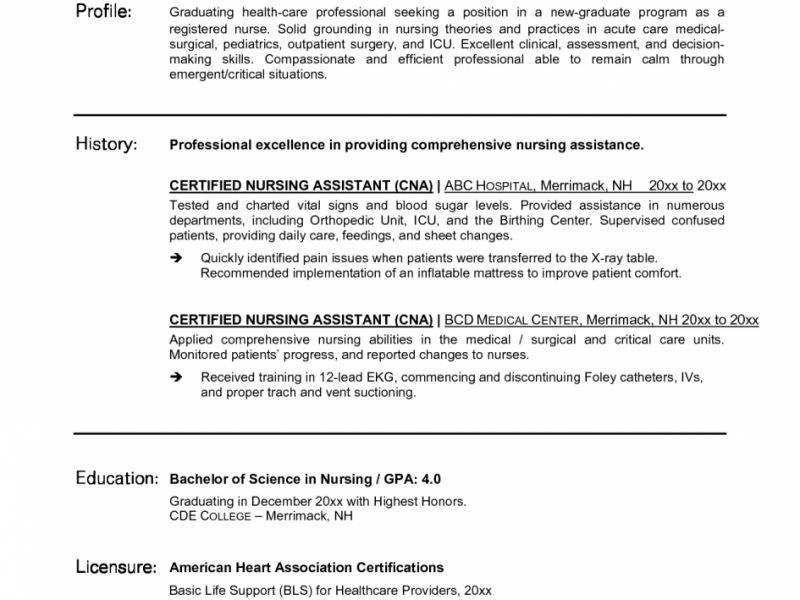 cna objective for resume cna resume cna resume entry level