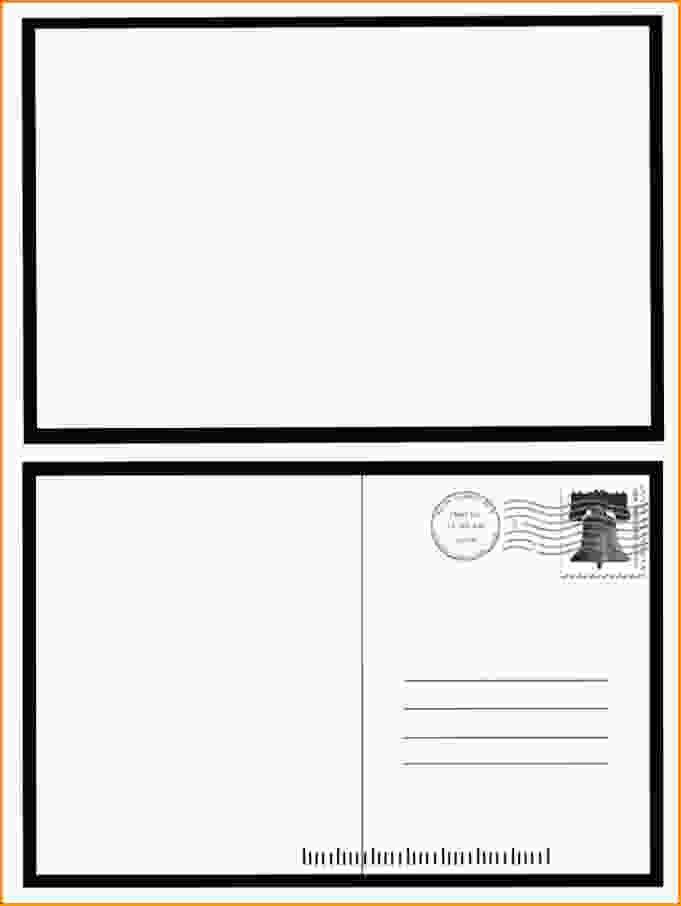 10+ word postcard template | Loan Application Form