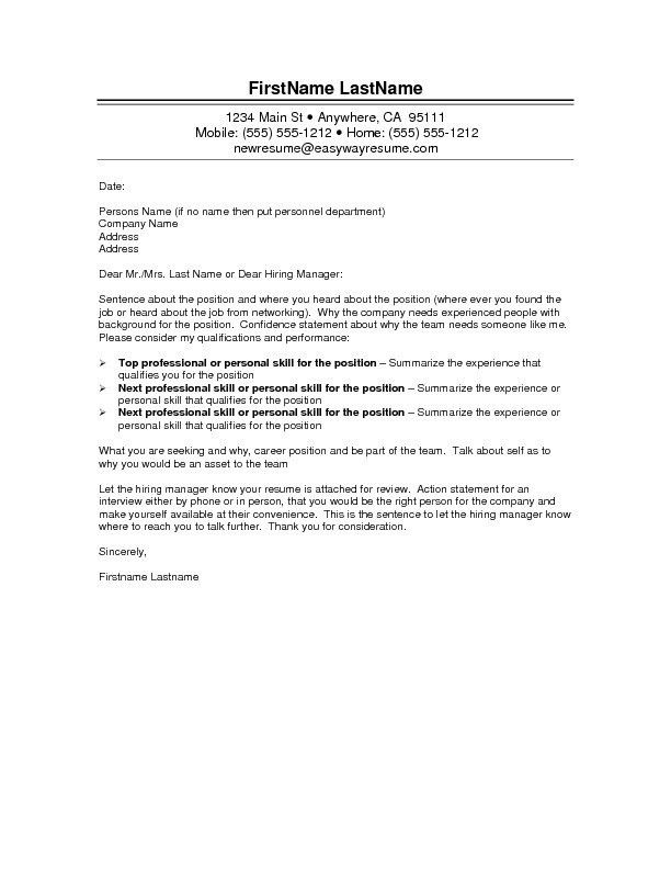Modified or Custom Cover Letter Written and Refreshed - Resume ...