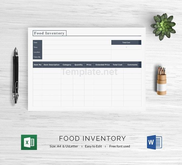 14+ Free Inventory Templates - Equipment, Excel, Supply | Free ...