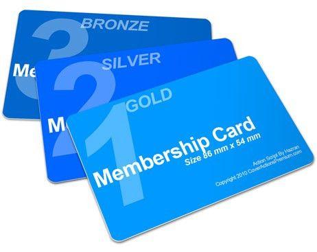 Member Card Mockup 86 x 54   Cover Actions Premium   Mockup PSD ...