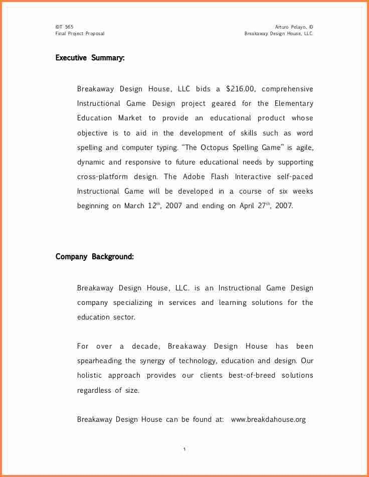 Art Proposal Template. 4+ Project Proposal Template Pdf 4+ Project ...