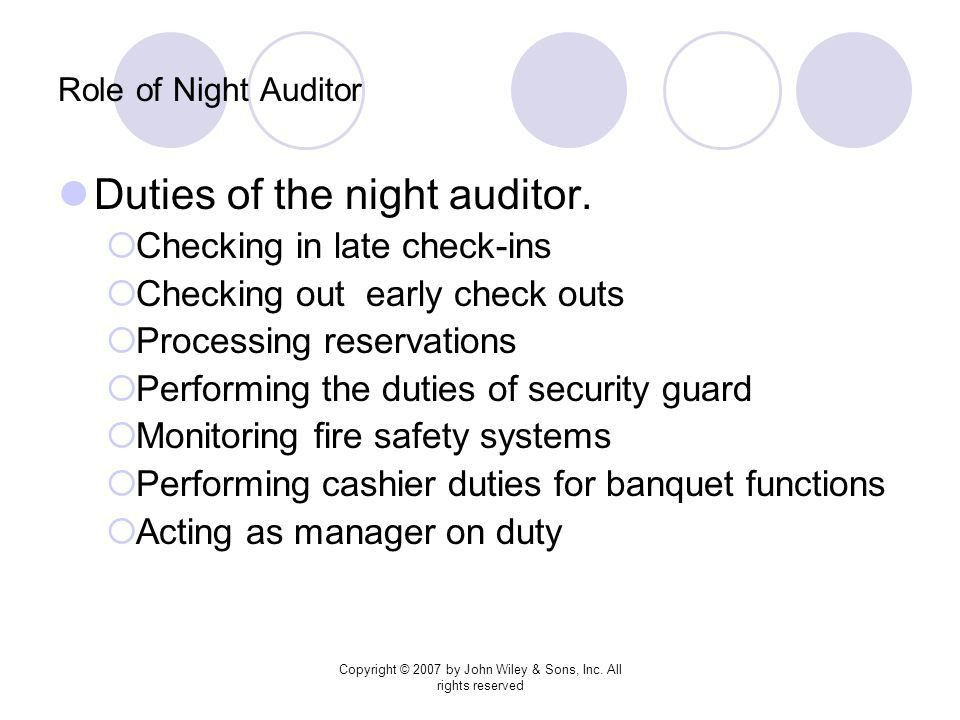 Chapter 10 Preparation and Review of the Night Audit - ppt video ...