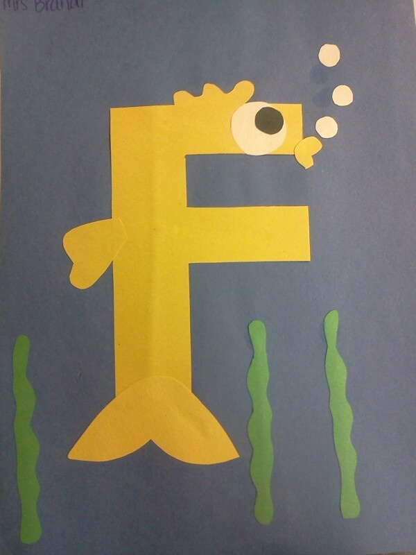 1000 images about letter craft on pinterest preschool for F crafts for toddlers