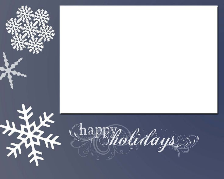 Holiday Card Template. Holiday Card Templates Read More Holiday ...