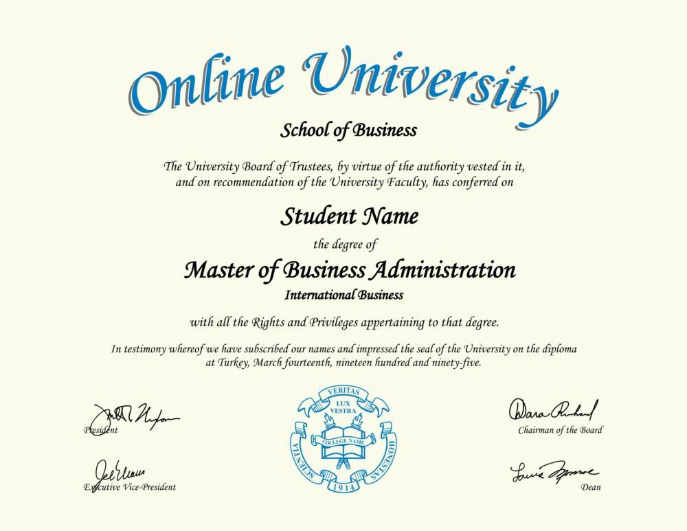 Fake Diploma Outlet - the Most Authentic Novelty Diplomas Online!