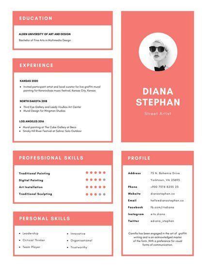 Minimalist Resume Templates - Canva