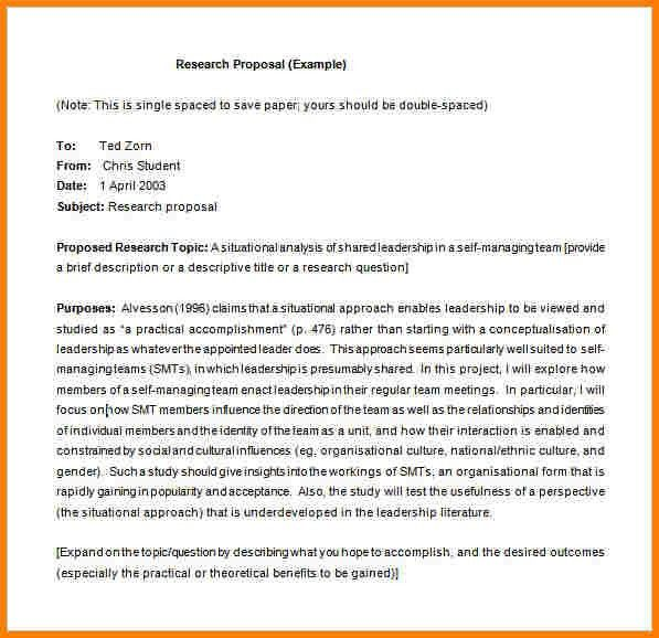 Research Proposal Example. Example Of Budget In A Research ...