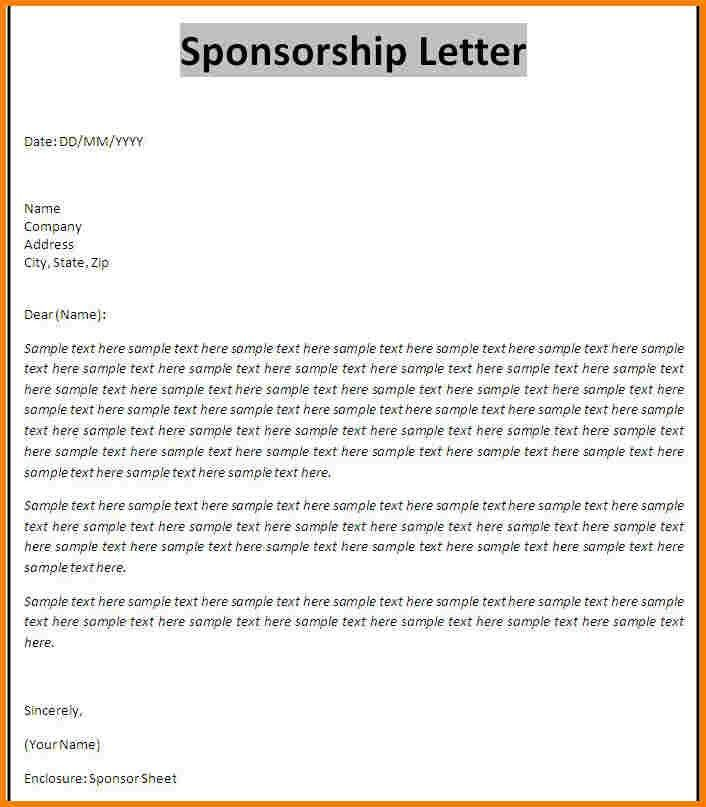 8+ sample sponsorship proposal | Proposal Template 2017
