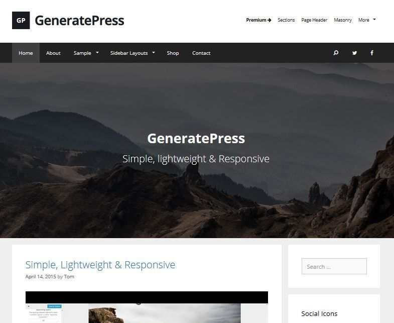 20+ Best Free Responsive WordPress Themes and Templates 2017