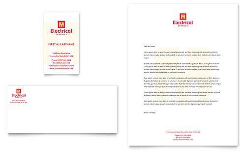 Construction - Letterhead Templates - Word & Publisher