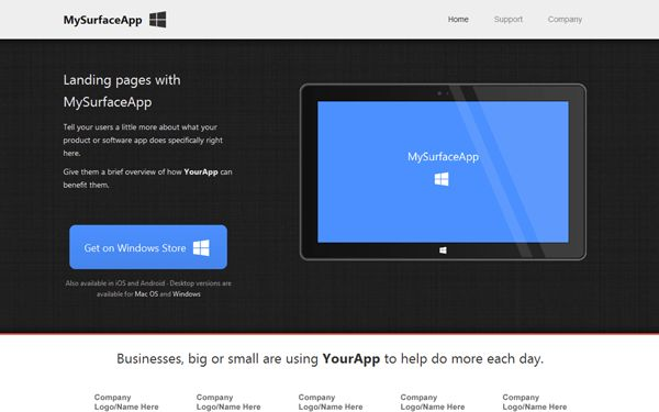 Bootstrap 2 Landing Pages | WrapBootstrap