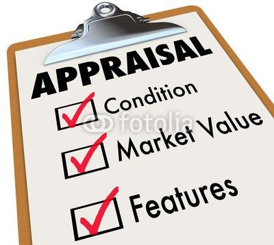 Appraisal Words Checklist Clipboard Factors Condition Market Val ...
