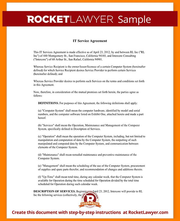10+ contract template for services agreement | ledger paper