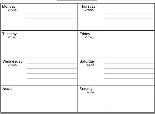 Daily Planner Template | cyberuse