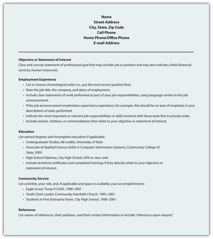 Traditional Resume Template | berathen.Com