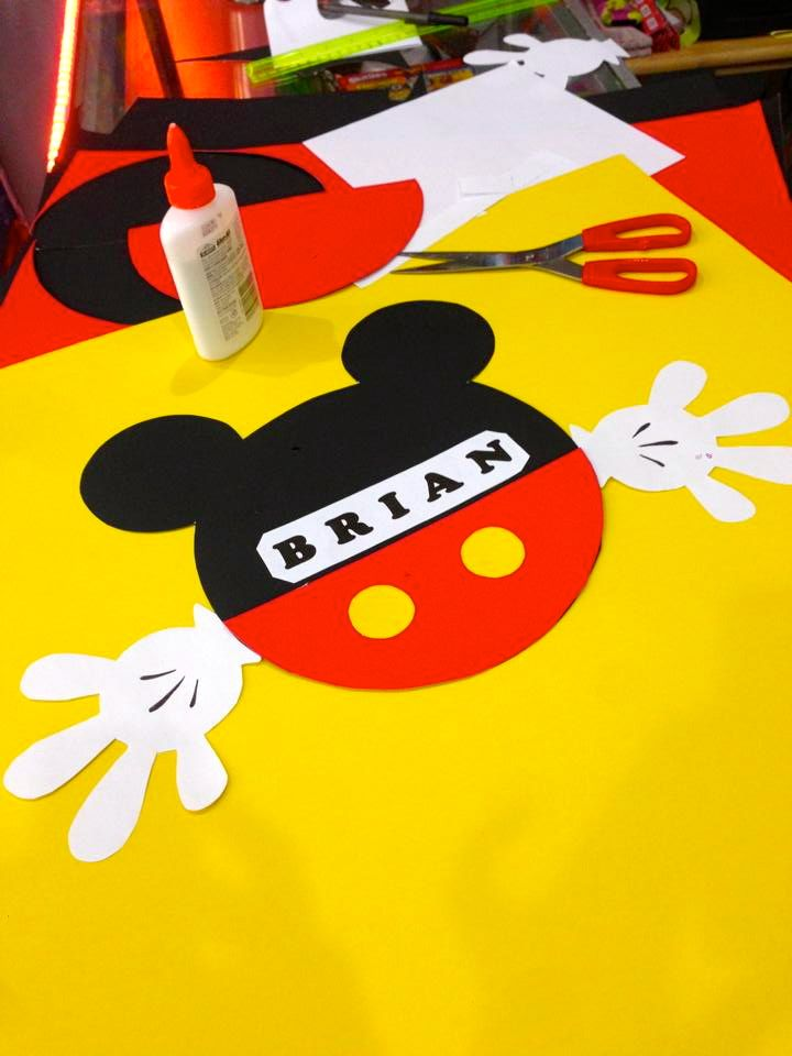 decoracao festa do mickey:Mickey Mouse Birthday
