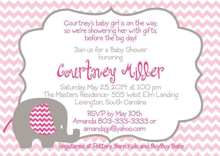Breathtaking Digital Baby Shower Invitation Templates 77 For Your ...