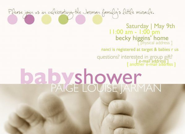 Best Collection of Free Online Baby Shower Invitations To Email to ...