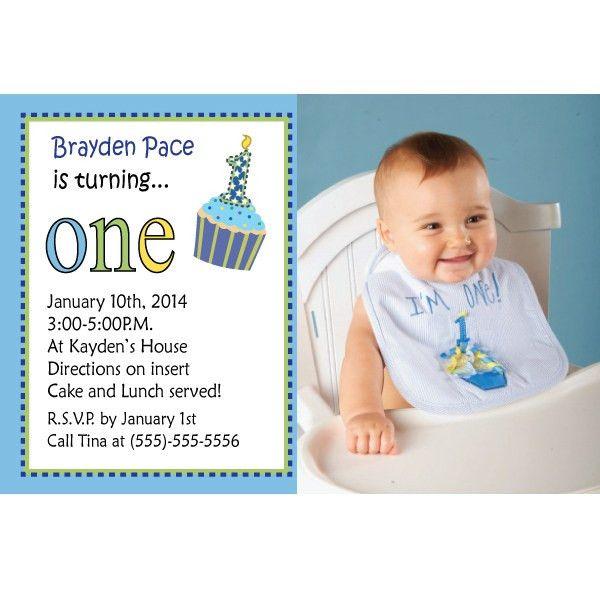 First Birthday Boy Invitations | afoodaffair.me