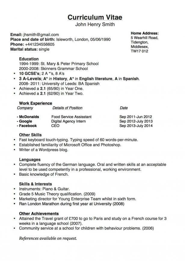Resume : Email Follow Up Application Entry Level Bank Teller ...
