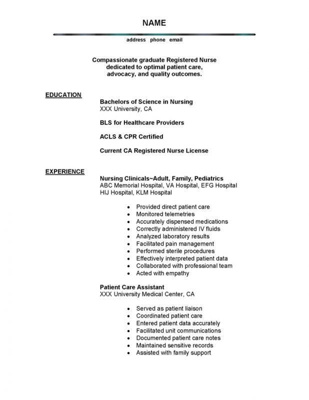 nanny resume objective statement on a resume cv examples good bad ...