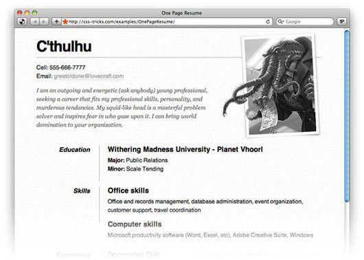 35 Best Online CV Resume Templates | Online cv