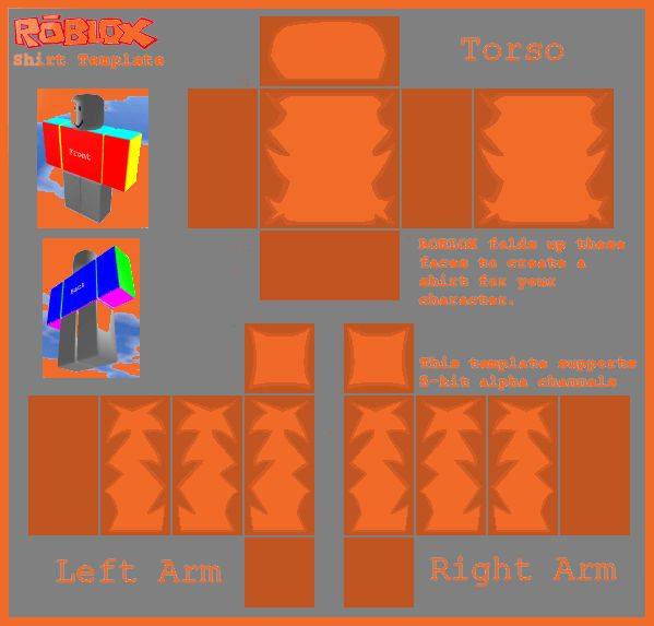 shirt template roblox | sop example