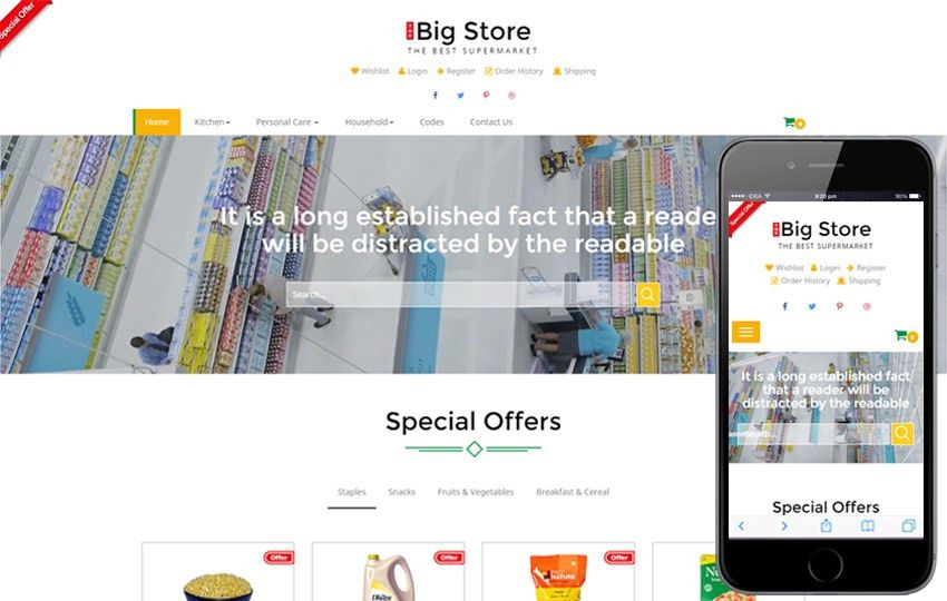 groceries - w3layouts.com