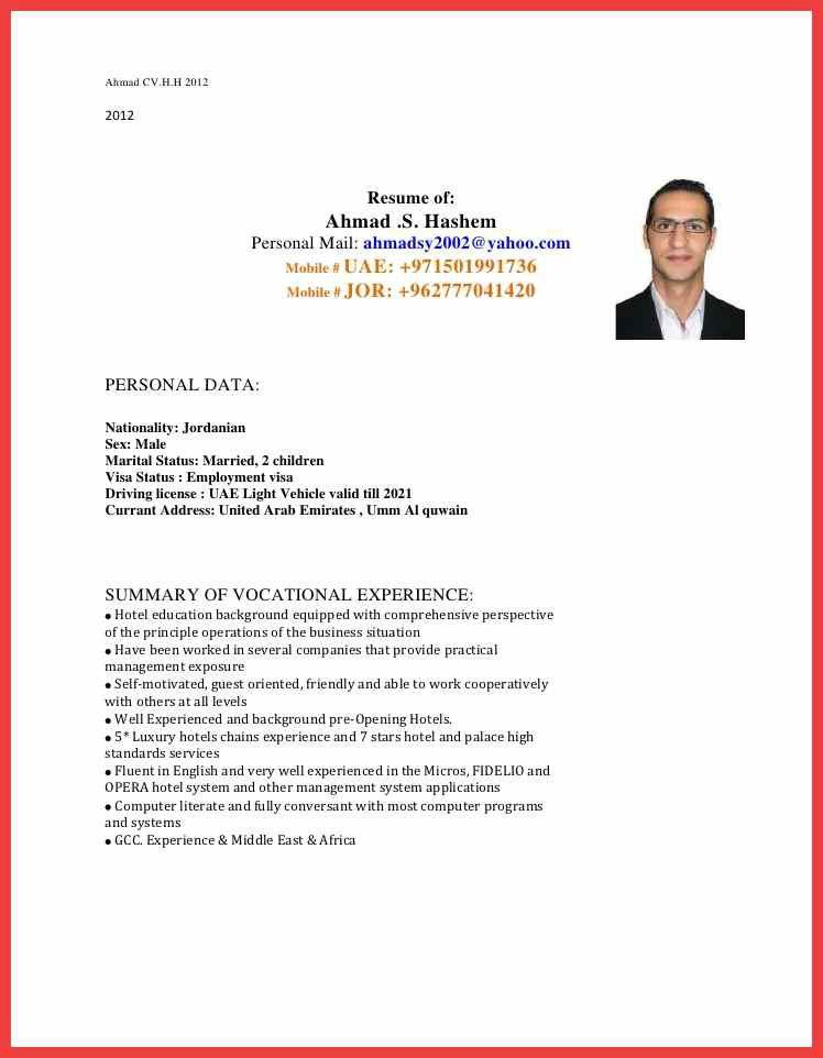 Samples for cv cover letter