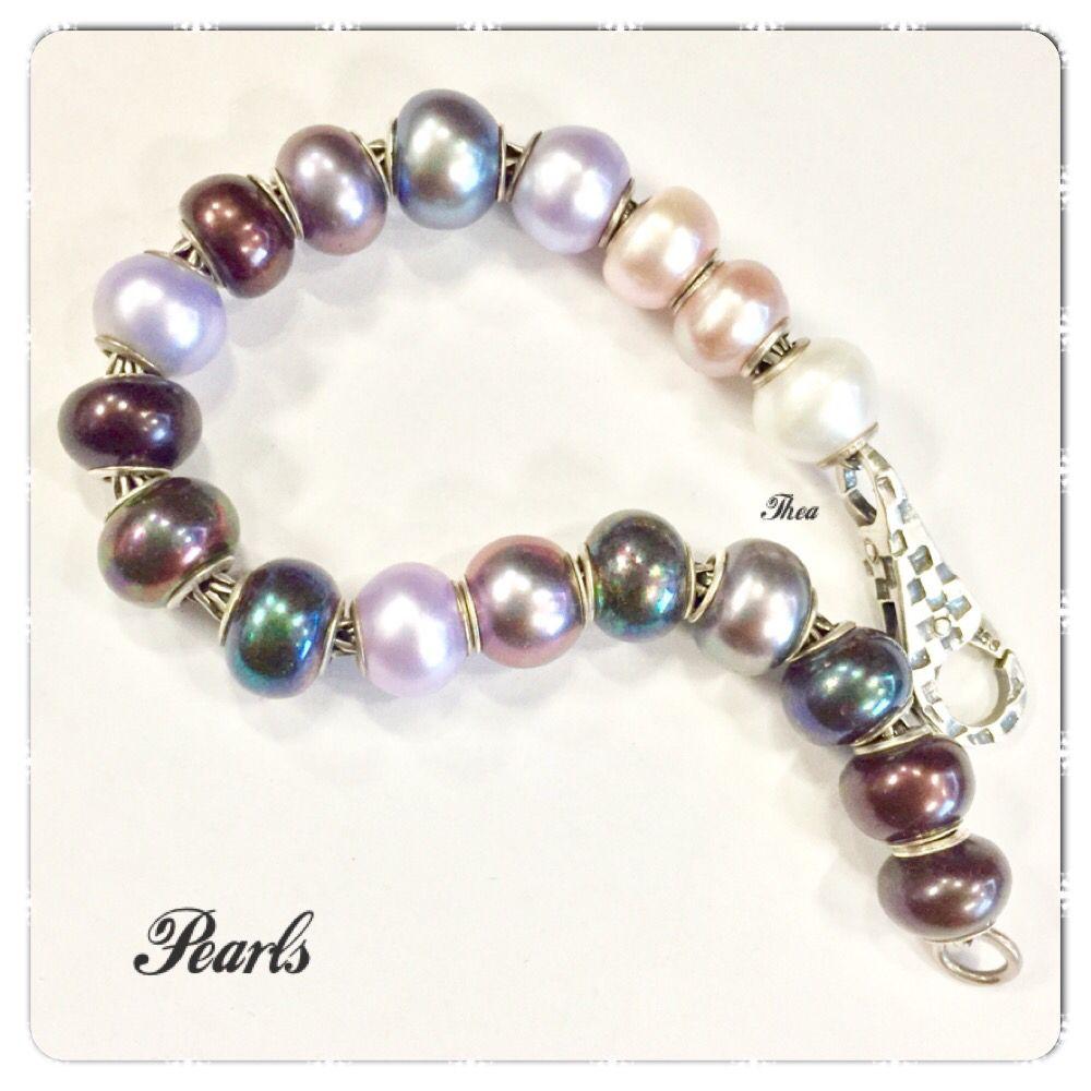 A simple Trollbeads pearl bracelet Bc5e7625c2ffc46bfa5689d489a450bb