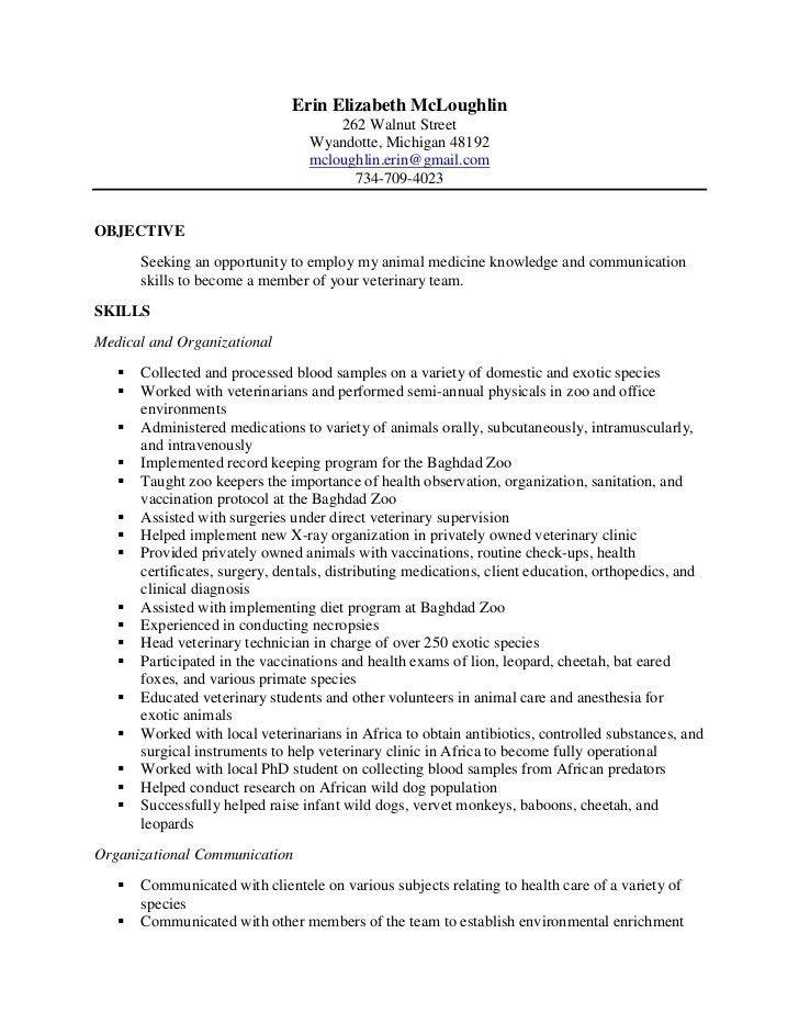 nurse technician resumes