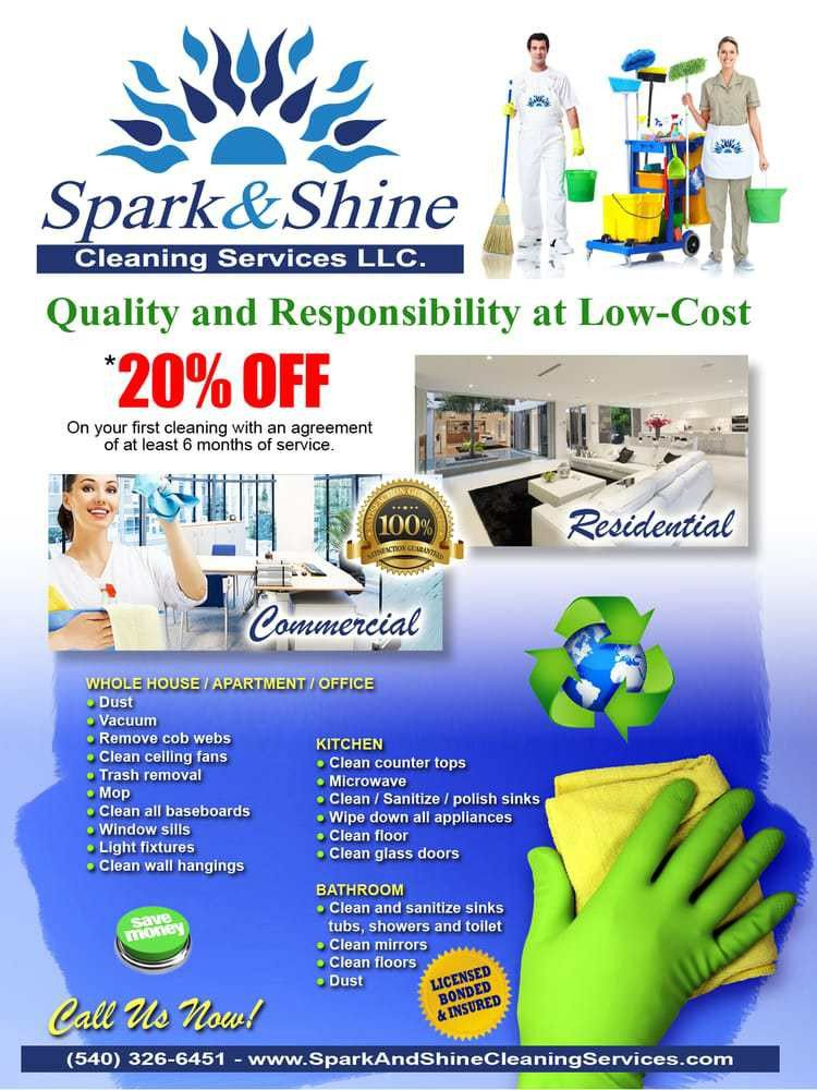 Spark and Shine Cleaning Services - 17 Photos & 11 Reviews ...