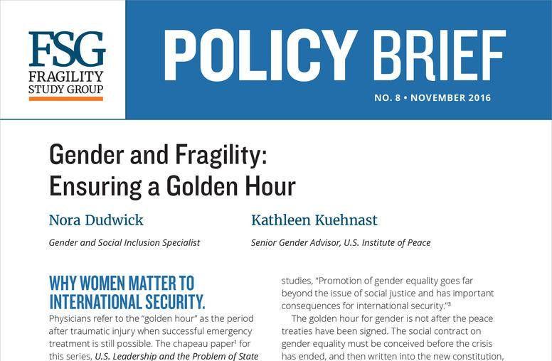 Kathleen Kuehnast, Ph.D. | United States Institute of Peace