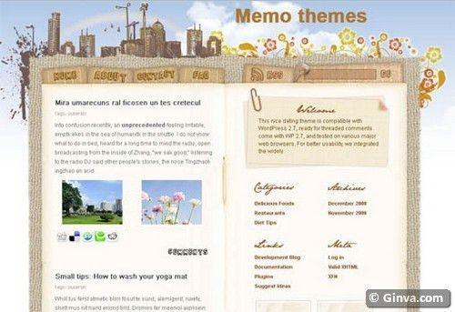 50 Handpicked Beautiful Free Blogger Templates   Ginva