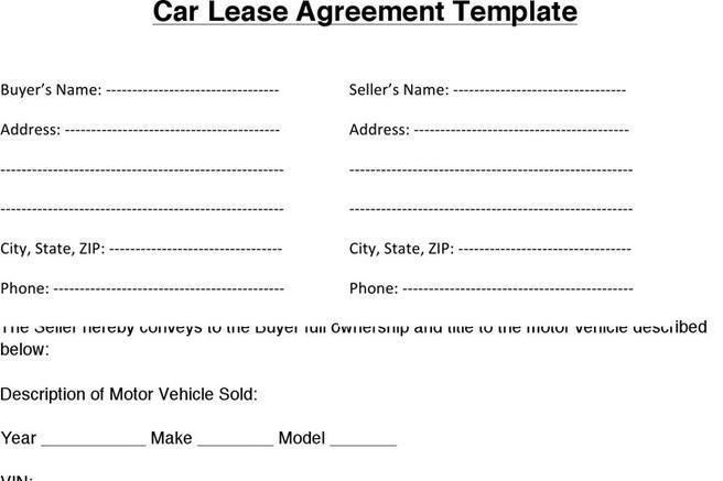 Rental Lease Agreement - 282+ Free Word, Pdf, Excel, FormatSample ...