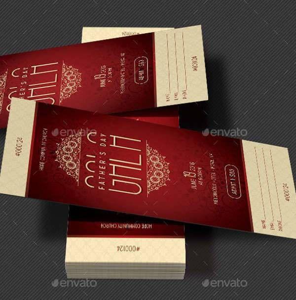 39+ Ticket Design Templates | Design Trends - Premium PSD, Vector ...
