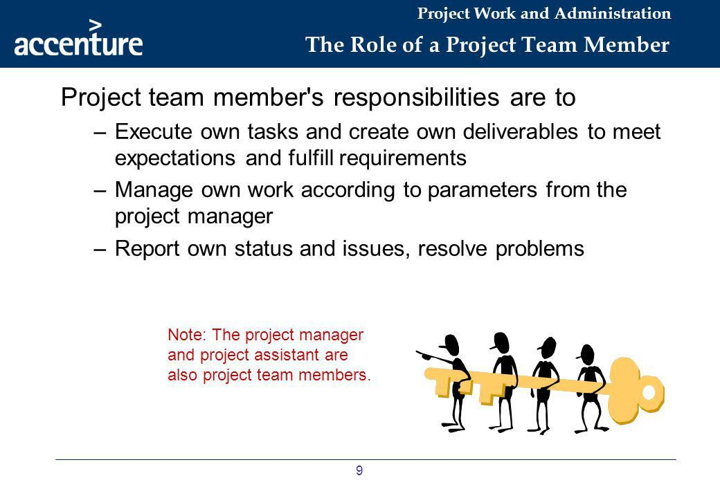 Project Work and Administration - ppt download