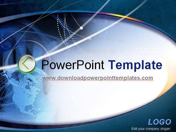 free powerpoint presentation templates technology powerpoint ...