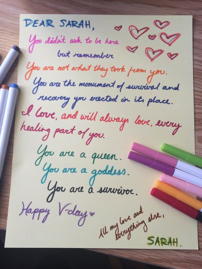 Read the Beautiful Love Letters Sexual Assault Survivors Are ...