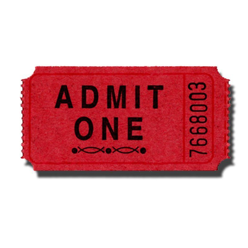 Premium Admit One Roll Tickets - Doolins