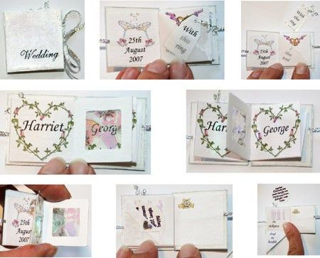 Tiny Book, cardmaking projects and templates