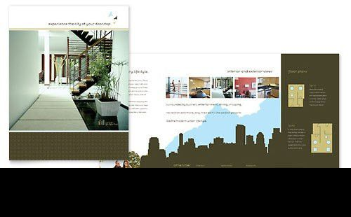 Real Estate Templates - Brochures, Flyers, Newsletters